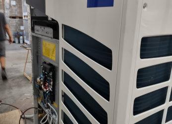 Climatizzazione reparto produttivo (HAIER AC)